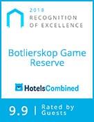 Botlierskop hotels combined award